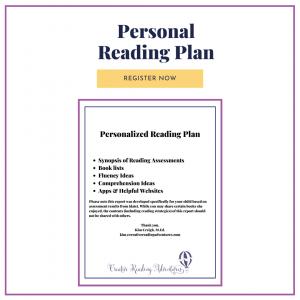 Personal Reading Plan